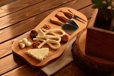 Bambum Hume 4 Parça Peynir Dünyasi Renkli